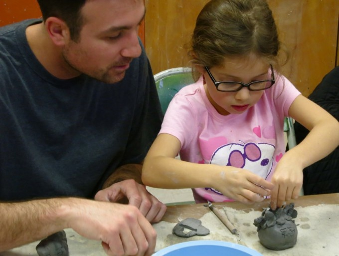Adult & Child Clay Studio